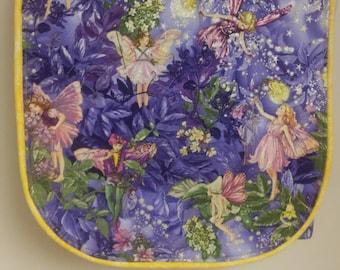Michael Miller Night Flower Fairies Purse