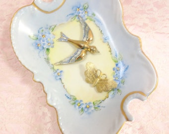 Brooches Bird And Butterfly
