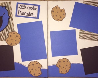 Cookie Monster 2 page kit