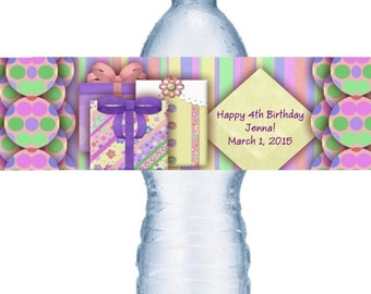 49 Birthday Water Labels