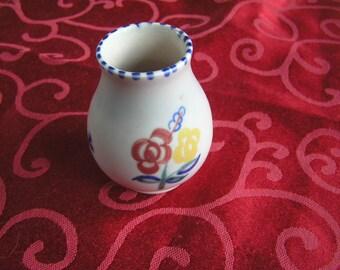 vintage mini Poole Vase