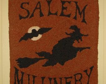 Ye Olde Salem Rug Hooking Pattern