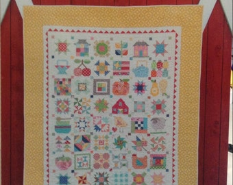 Farm Girl Vintage quilt book from Lori Holt of Bee in My Bonnet