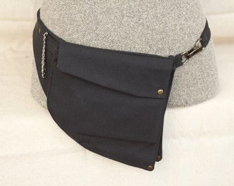 Belt Pocket , Hip Bag, Utility Belt, Festival Pocket Belt, Fanny Pack