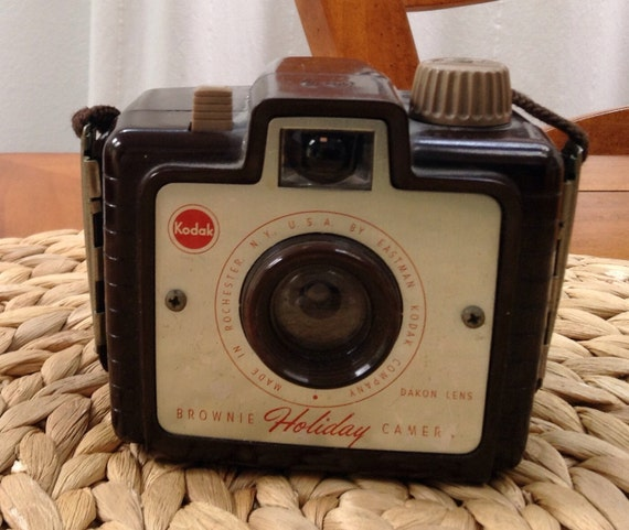 Vintage Kodak Brownie Holiday Box Camera