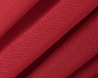 Chiffon Red Fabric – Sold By The Yard 3010