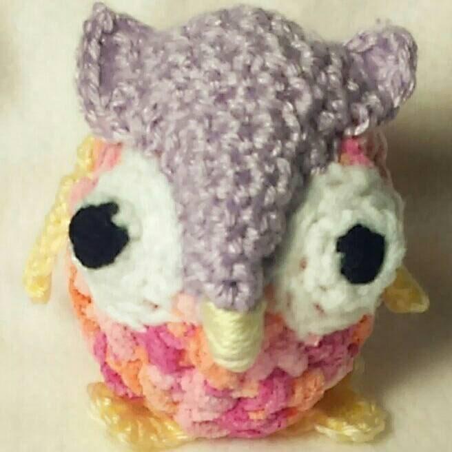 Amigurumi Owl Beak : Owl Amigurumi by KayMamasSews on Etsy