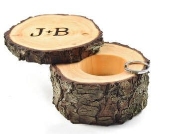 Custom Ring Box ~ proposal ring box ~ wedding/valentines box ~ wood ring box ~ engagement ring box ~ Ring pillow alternative ~