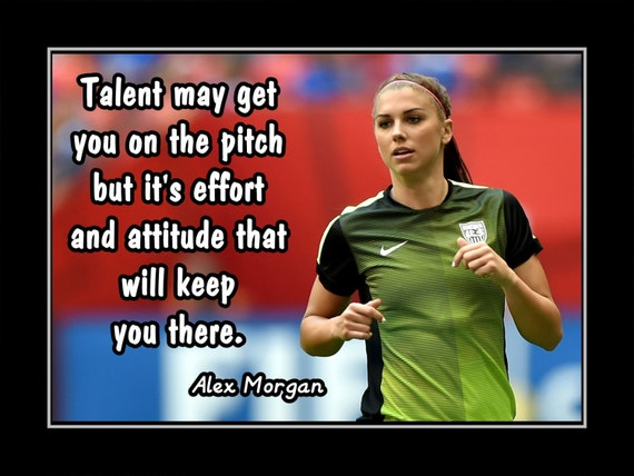 Alex morgan womens soccer motivation poster coaching like this item voltagebd Image collections