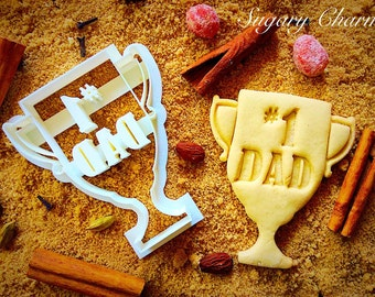 Father's day cookie cutter