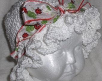 summertime baby hat, crochet baby hat, crochet hat baby, sun hat, summer hat