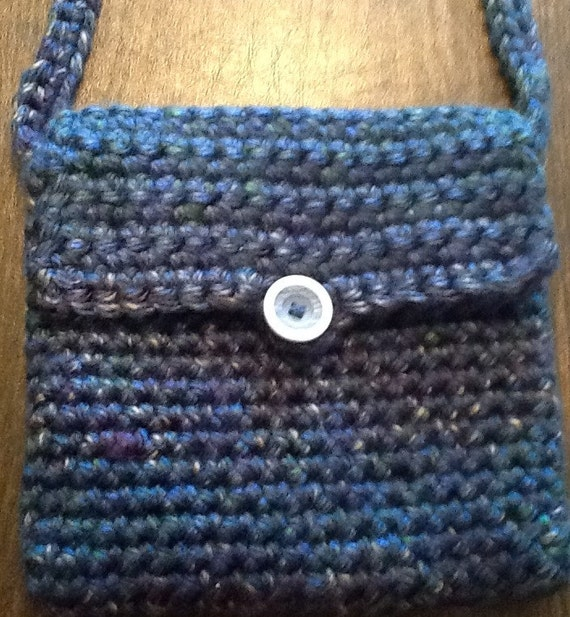 Crochet Back Bag : Crochet crossbody bag by ChrissysCrochetShop on Etsy