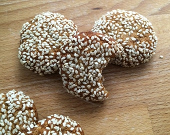Heavenly Paleo Sesame Gluten Free Cookies !