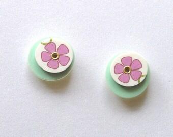 Bloom Stud Earrings 006