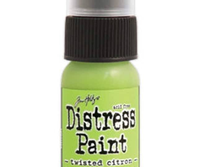 Tim Holtz Distress Paint Dabber - TWISTED CITRON - May 2015