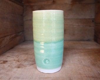 Vase - Flower Vase - Bud Vase - Ceramics and Pottery - Ceramic Vase - Wheel Thrown Pottery - Handmade Vase - KJ Pottery