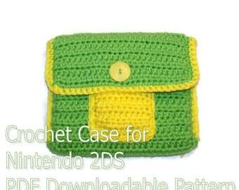 Crochet Case for Nintendo 2DS Pattern PDF Download