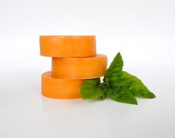 Sale JASMINE + MINT Wet Shaving Soap for Men Homemade Soap Vegan Skincare Natural Shaving Cream Soap Bar Puck Refill Shave Bar Vegan