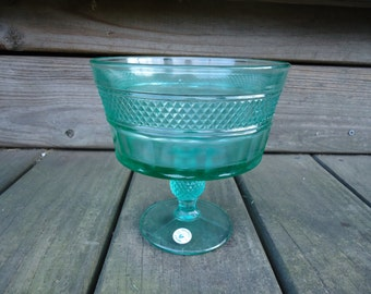 Viking Green Compote Dish