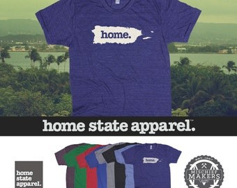 Home State Apparel Puerto Rico Home Shirt Men's/Unisex