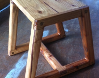 Simple stool, table, step stool  (12 x 14 x 12)