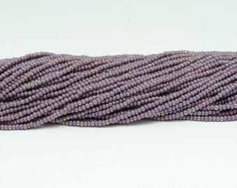 Czech Seed Beads, IRIS, Size 11/0, Light Amethyst