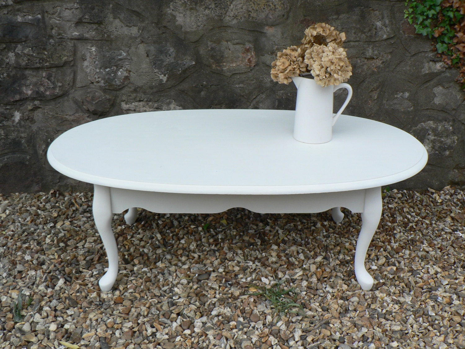 Shabby Chic French Style Coffee Table In Annie By Rubydodesigns