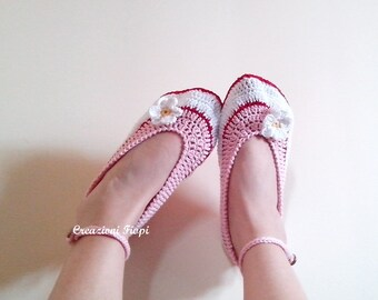 Crochet Pattern Slipper Crochet Daisies Woman (Adult Size)Crochet adult shoes Pattern 183/ Permission to Sell Finished Product