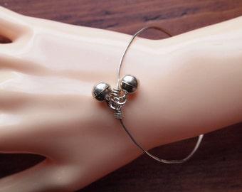 Jingle Jangle! Cute Sterling Bracelet with Little Bells