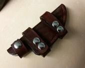 Custom Leather Knife Sheath (Hand Stitched)