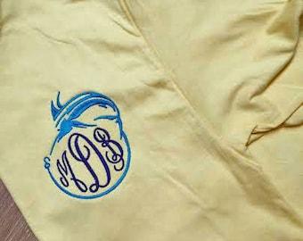 Fish Monogrammed T-Shirt
