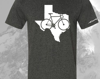 Texas Bicycle T Shirt