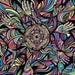 Psychedelic Art Print, Trippy Wall Art, Psychedelic Poster, Psychedelic Print, Digital Print, Manik Apparel Art