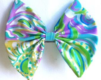 Lilly Pulitzer Double Trouble Hair Bow