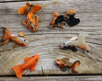 Miniature koi etsy for Miniature koi fish
