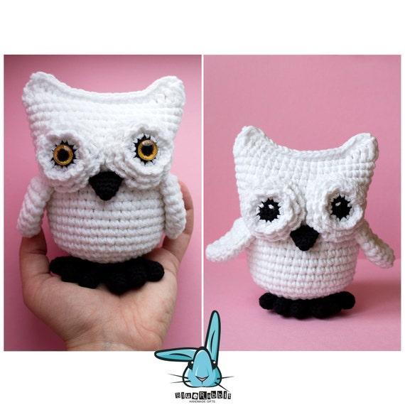 h keln amigurumi wei e eule schnee eule crochet toy. Black Bedroom Furniture Sets. Home Design Ideas