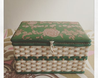 Reduced* Vintage Sewing Box circa 70's