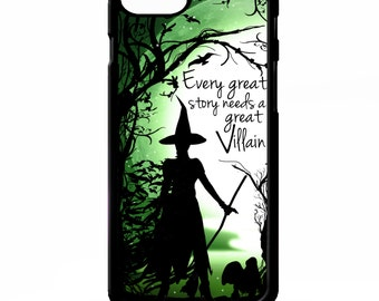Wicked witch of the West wizard of oz phrase quote art cover for iphone 4 4s 5 5s 6 6 plus case Sony xperia Z2 HTC Galaxy s5 phone case