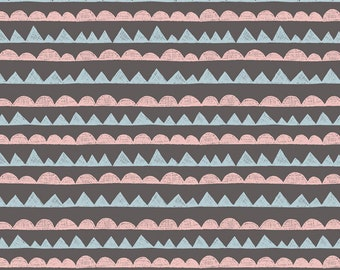 Lewis & Irene Patchwork Quilting Fabric - A004-3 Jurassic Coast Dinosaurs Teeth
