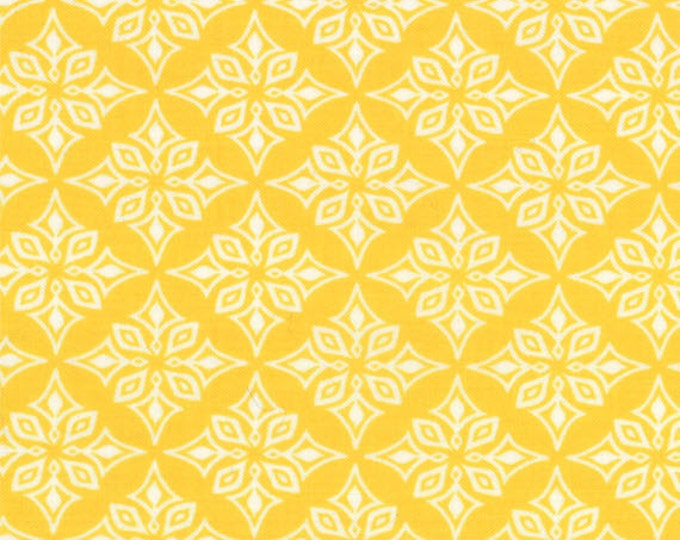 Half Yard Daydreams - Vestige in Yellow - Cotton Quilt Fabric - designed by Kate Spain for Moda Fabrics - 27178-12 (W2778)