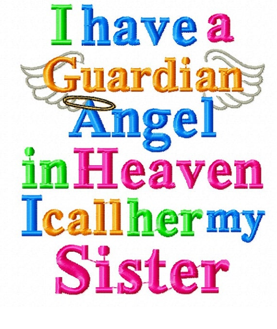 Instant Download I Have A Guardian Angel In By