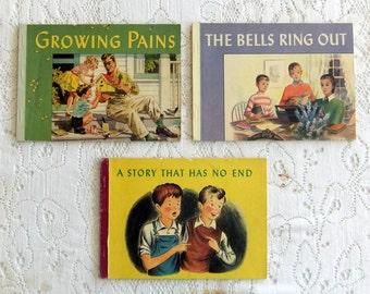 Vintage Children's Christian Sunday School Textbooks-Set of Three