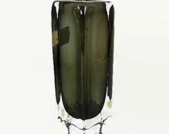 Orrefors Sommerso Art Glass Vase Nils Landberg 1959 MCM