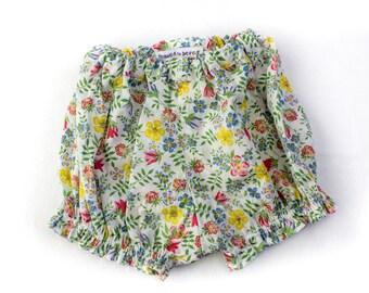 SEWING PATTERN, Boys &Girls Bloomers Pattern, Baby Bloomers Pattern, Baby Trousers Pattern, Cute Baby Shorts, PDF, Unisex Baby Bloomers