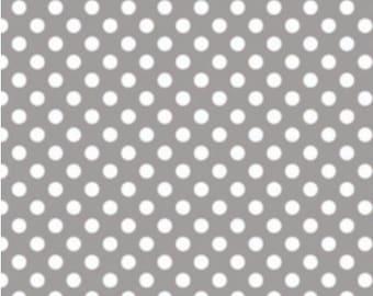 Small Dots Gray, Riley Blake