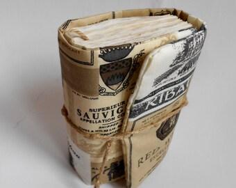 Etikets Journal, Handmade Diary, Travel Book, Old Paper, Pregnancy journals, Notebooks