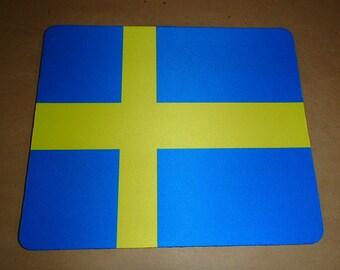 Scandinavian Flag Mouse Pad ~ Sweden Norway Finland Denmark