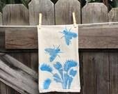 Venus Flytrap Flour Sack Tea Towel