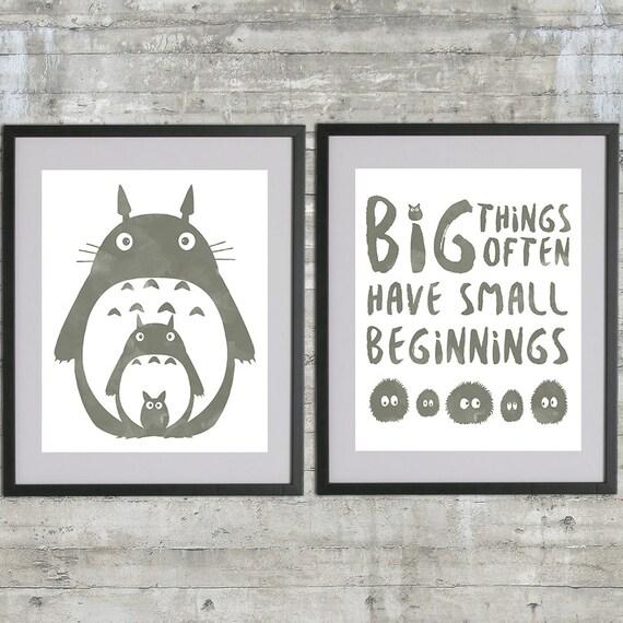 Totoro Art Printable