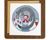 Little Red Riding Hood Card